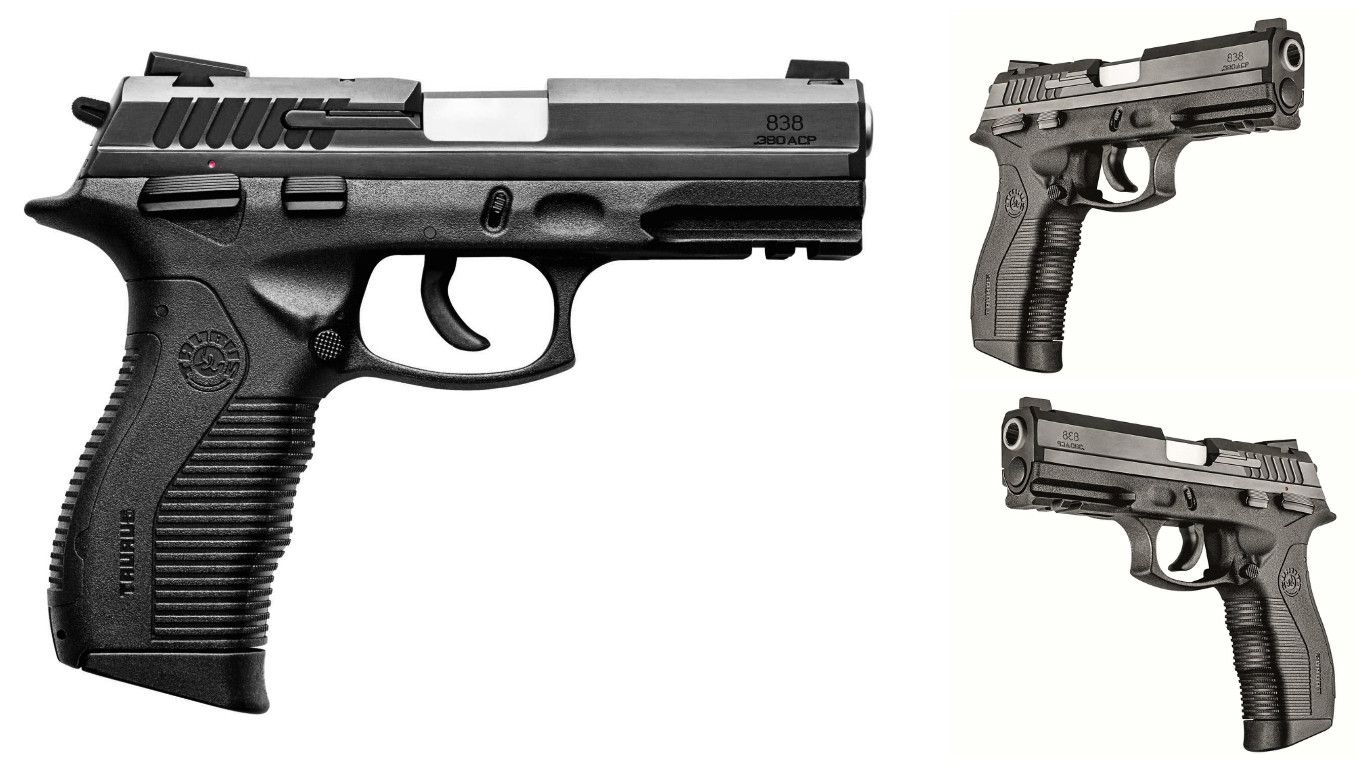 Review: Pistola Taurus PT 838