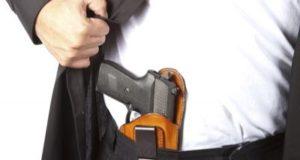 Preparação para porte de arma de fogo
