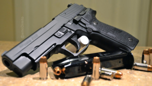 Pistola e balas