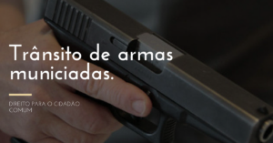 Permissão para que atiradores esportivos transportem armas municiada
