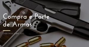 Compra e porte de armas de fogo facilitada